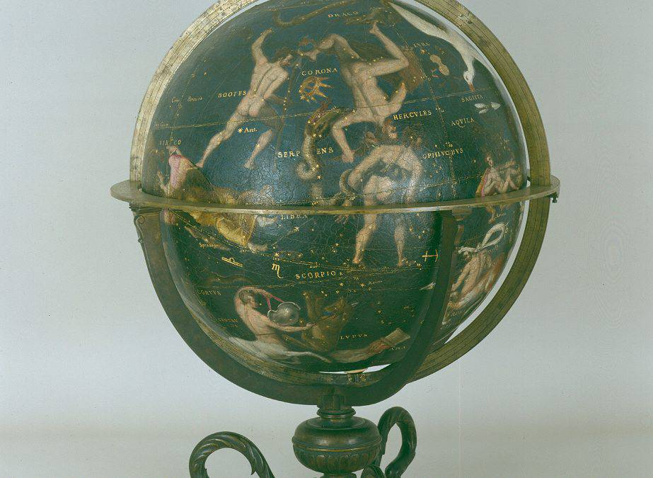 Il Globo terracqueo ed il Globo celeste (invv. 265, 264)