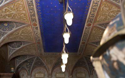 Incontro sul restauro del soffitto della Biblioteca