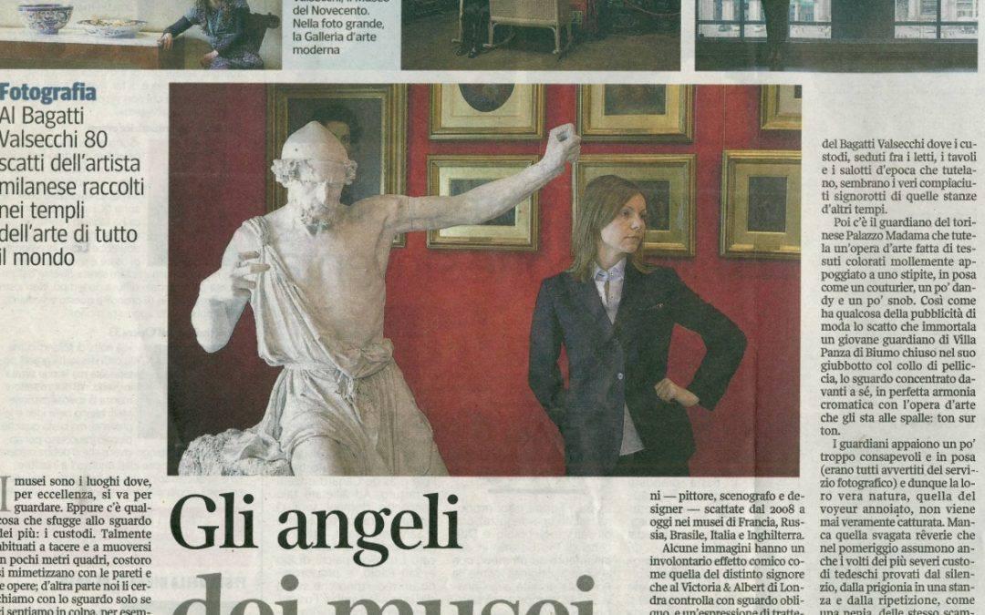 Gli angeli dei musei