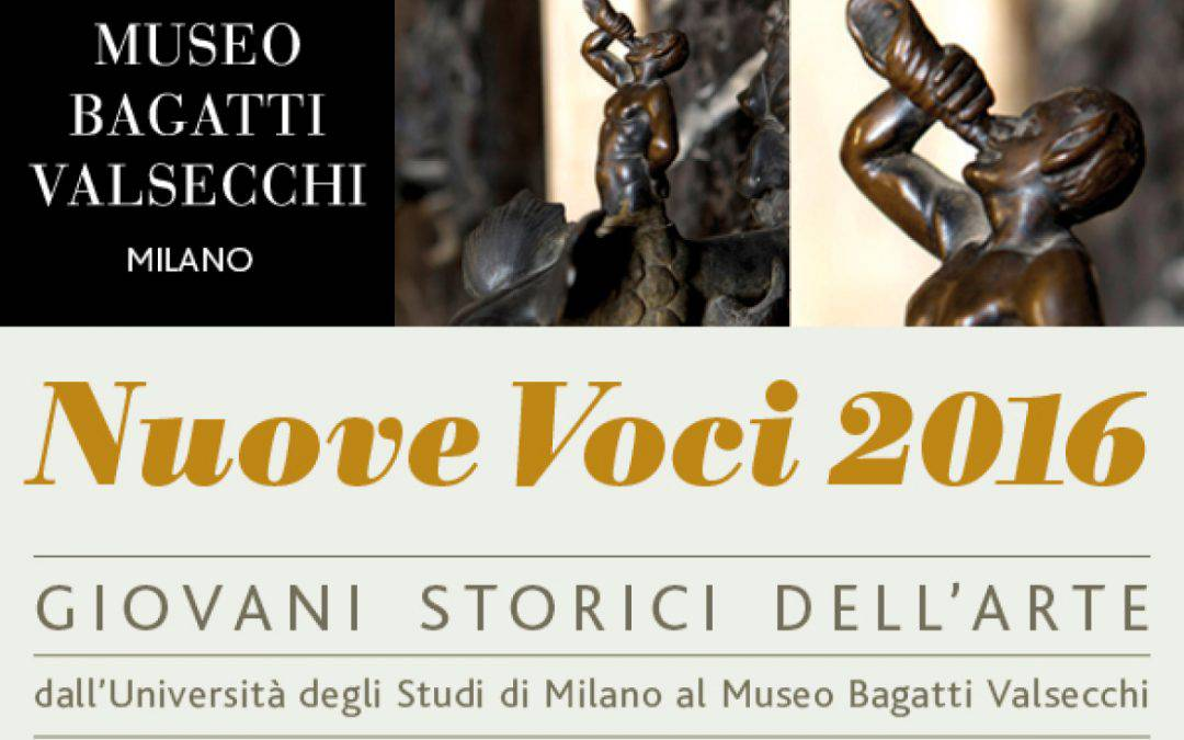 New Voices (in Italian) – 2016