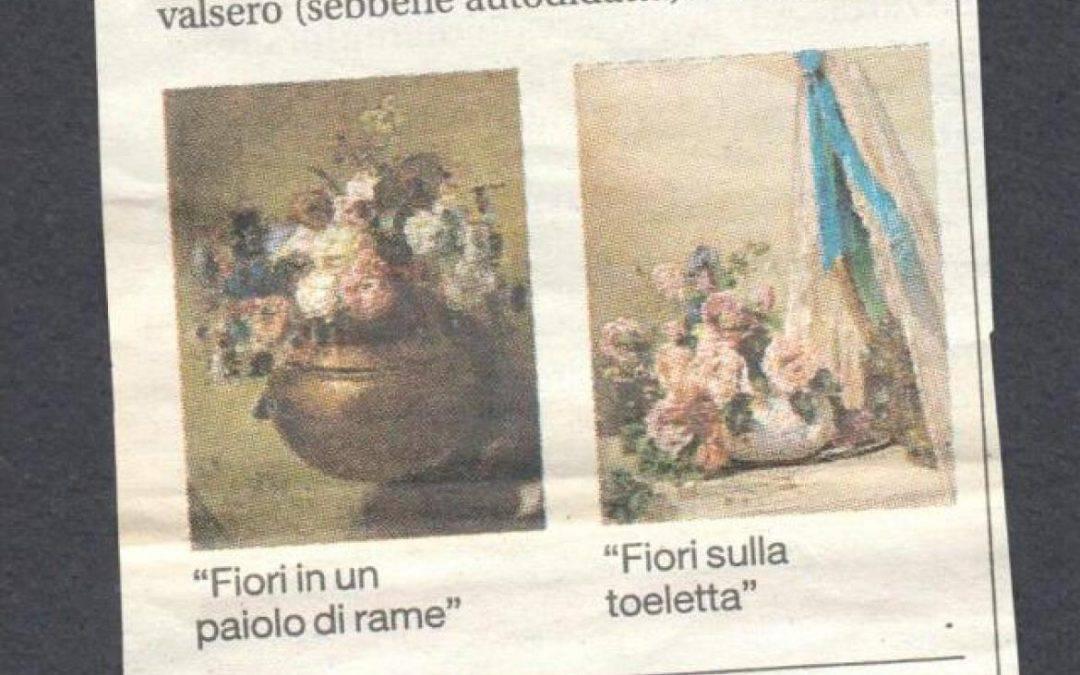 Scrosati, un pittore di fiori nei salotti dell'Ottocento