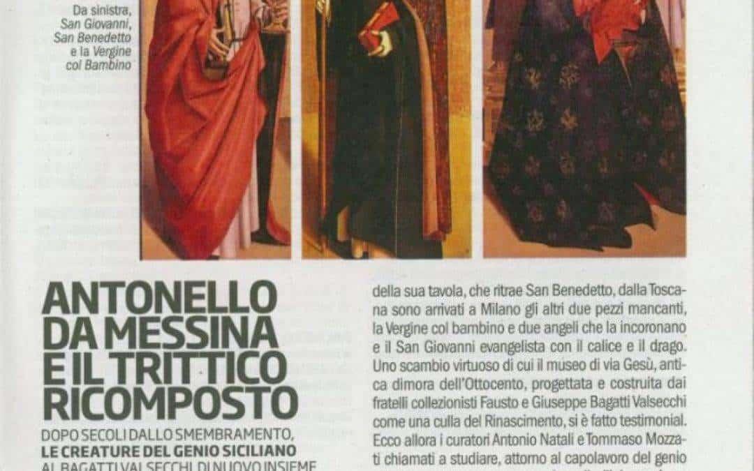 Antonello da Messina e il trittico ricomposto