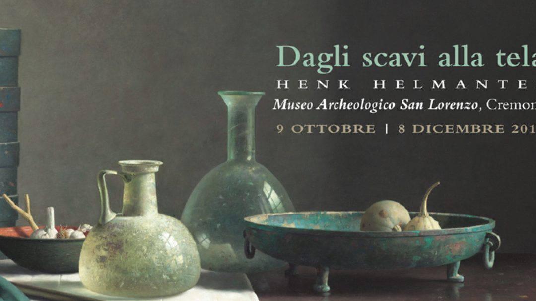 Presentazione della mostra cremonese Dagli scavi alla tela. Henk Helmantel