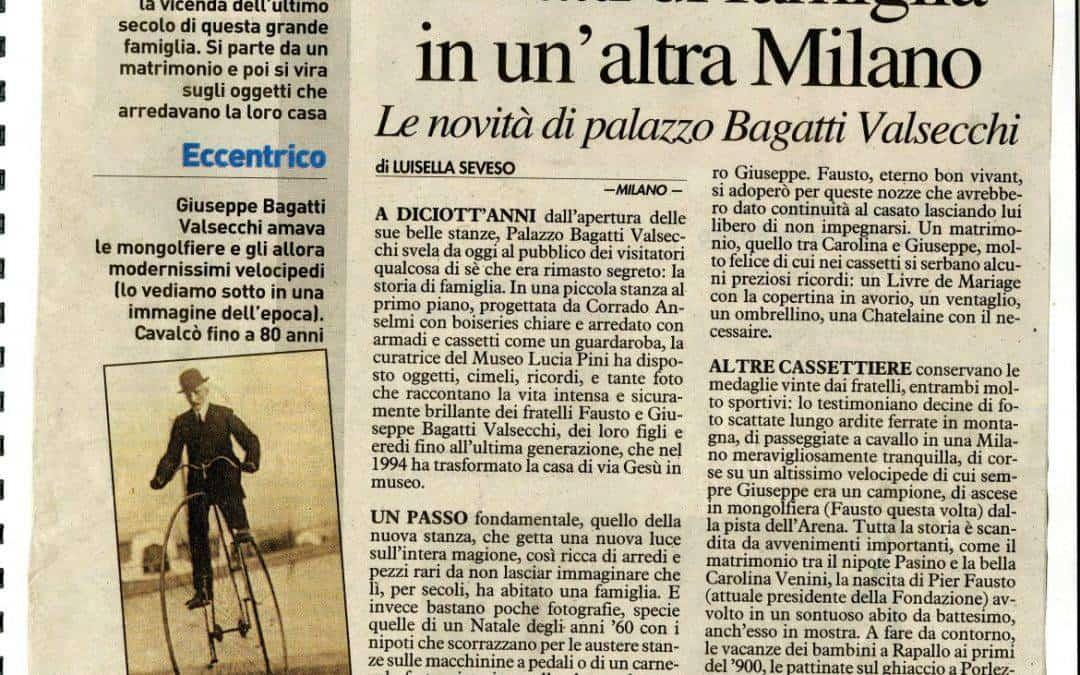Ritratti di famiglia in un'altra Milano