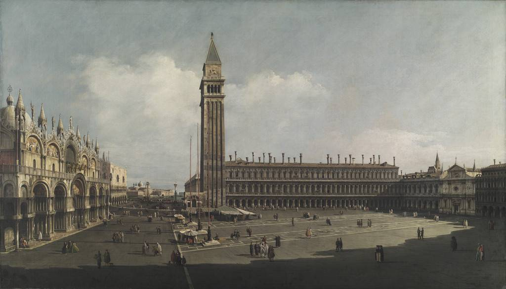 Bellotto and Canaletto. Stupor and Light (Gallerie d'Italia, Milan)