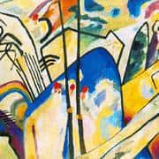 Kandinsky: The Wandering Knight. Travelling Towards Abstraction