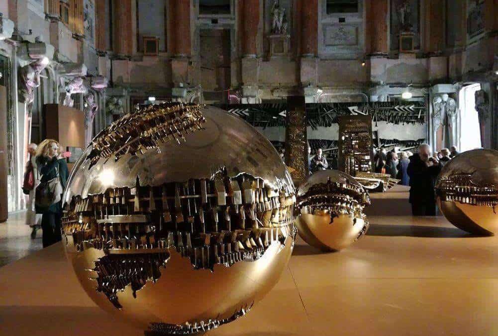Arnoldo Pomodoro: 90 years of sculpture