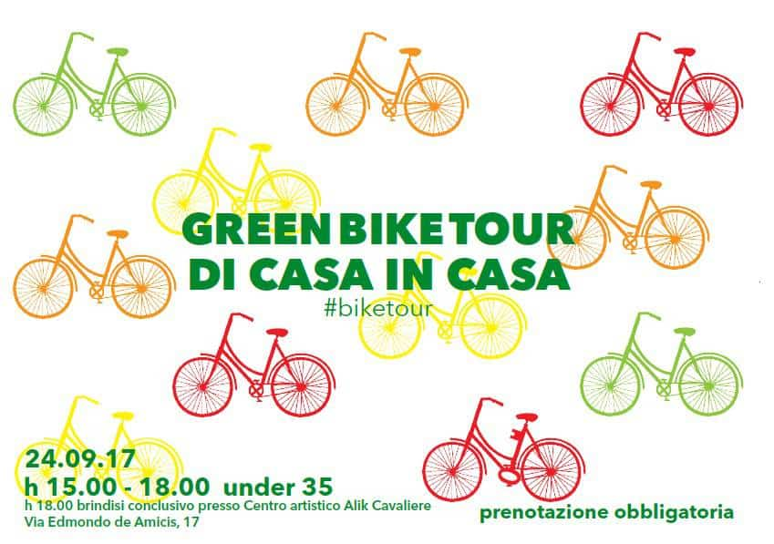 Green bike tour – from house to house