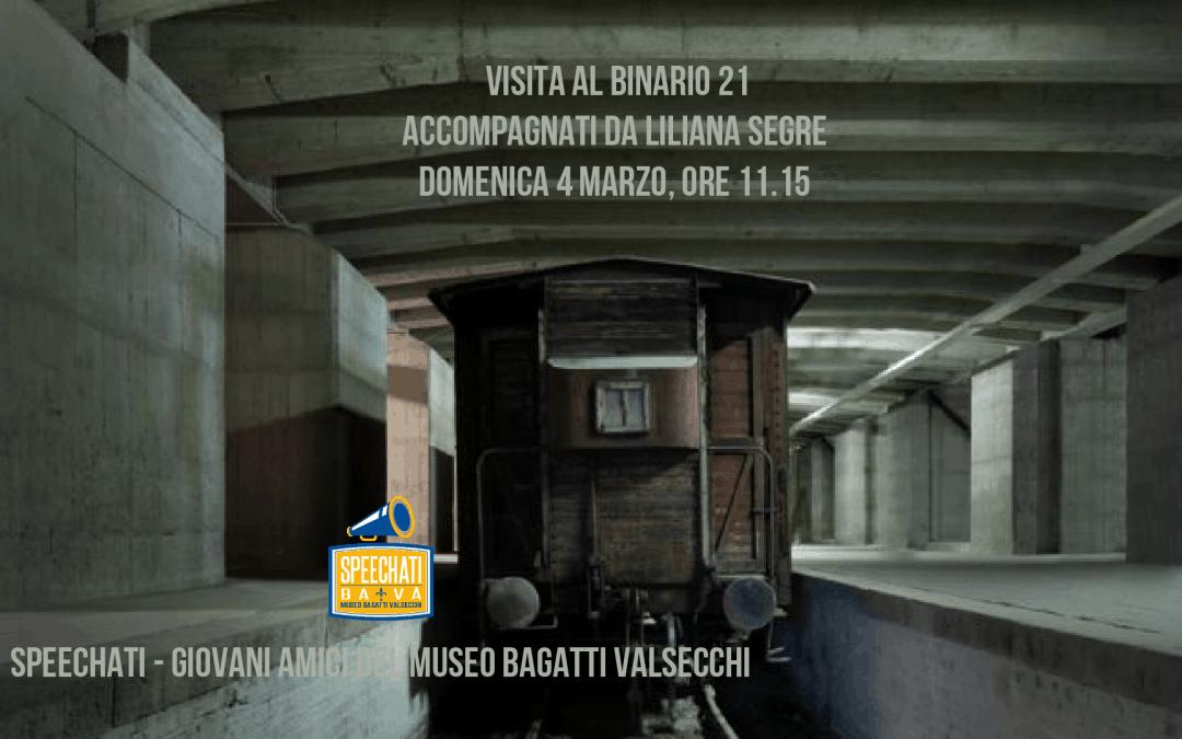 Track 21 with Liliana Segre, Holocaust survivor (in Italian)
