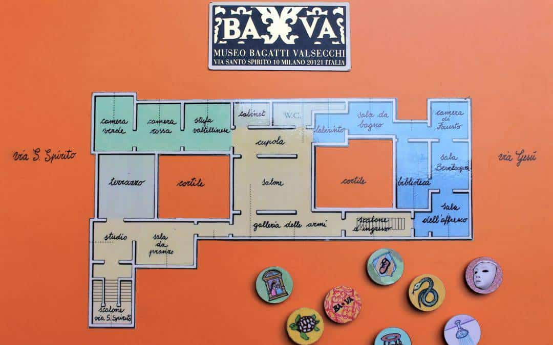 Treasure hunt (in Italian) at the Bagatti Valsecchi Museum for kids from 5 to 11 years of age