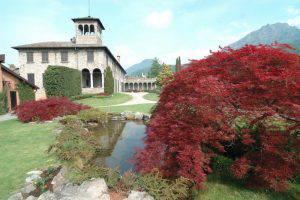Lake Como: a visit to three villas (in Italian)