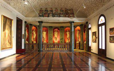 Visit to the Pinacoteca Ambrosiana (in Italian)