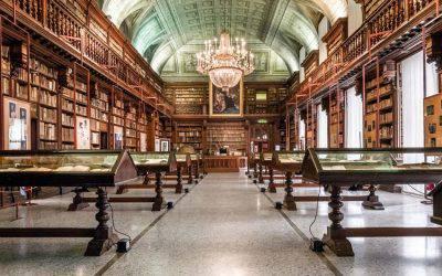 Tour of the Biblioteca Braidense (in Italian)