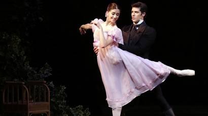 Prova d'insieme del balletto Onegin